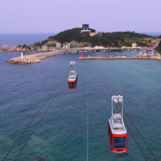 Fly Above the Ocean! Samcheok Marine Cable Car Opens September 26