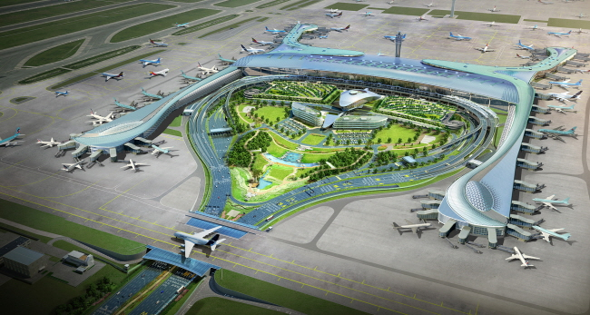 Incheon International Airport Passenger Terminal 2 Opens ...