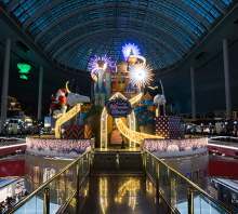 Lotte World Hosts Make a Miracle Winter