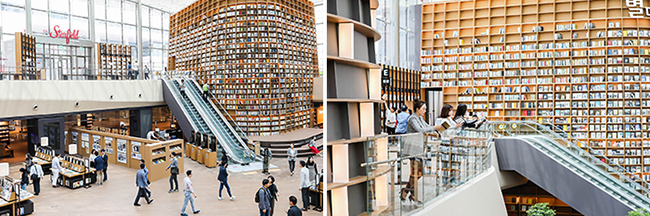 Seoul S Latest Attraction Starfield Library In Starfield