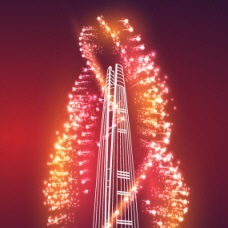 Enjoy an Extraordinary Fireworks Festival on April 2 at Lotte World Tower!