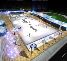 Ice Skating Rinks Open in Seoul