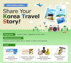 """Share your Korea Travel Story! #MyVisitKoreaStory"" Event Winners"
