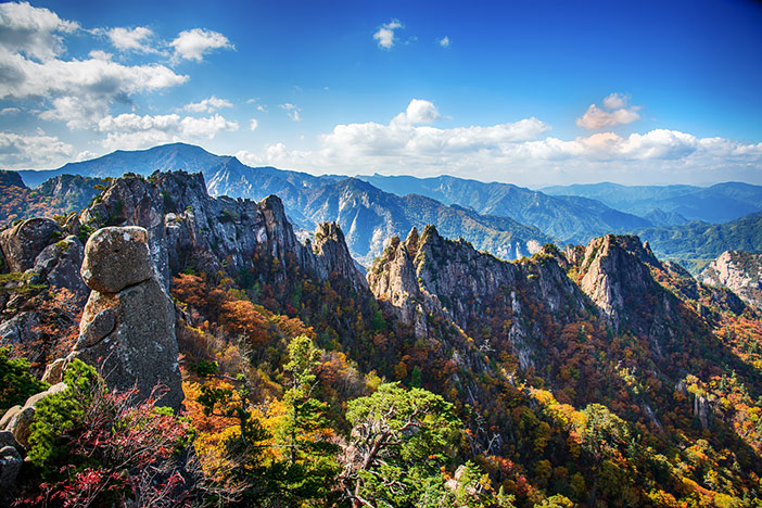 Gangwon-do's Scenic Beauty