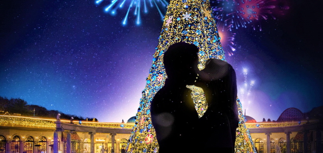 Christmas In Korea.Enjoy Spectacular Christmas Festivals At Amusement Parks