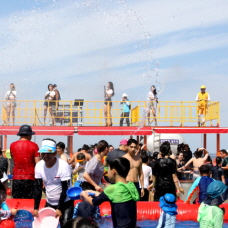 Saemangeum Nomad Festival takes place from Aug. 15