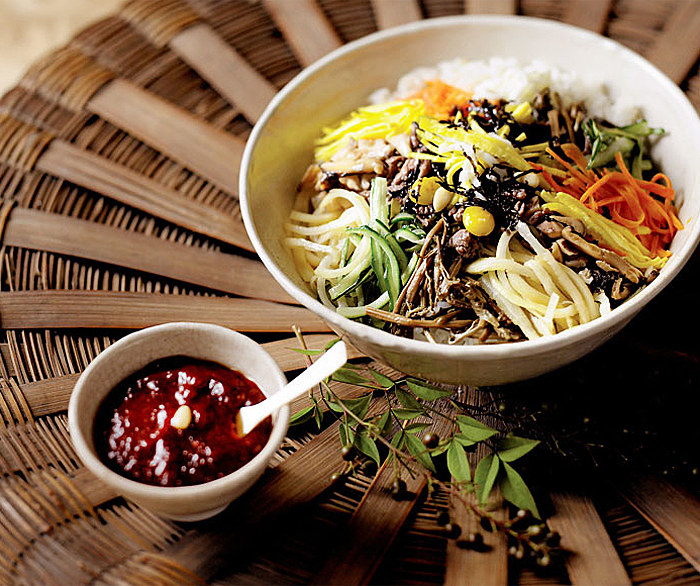 Korea's health secret of bibimbap prepared to perfection