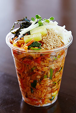 Bibimbap 2.0, fusion food for a modern world