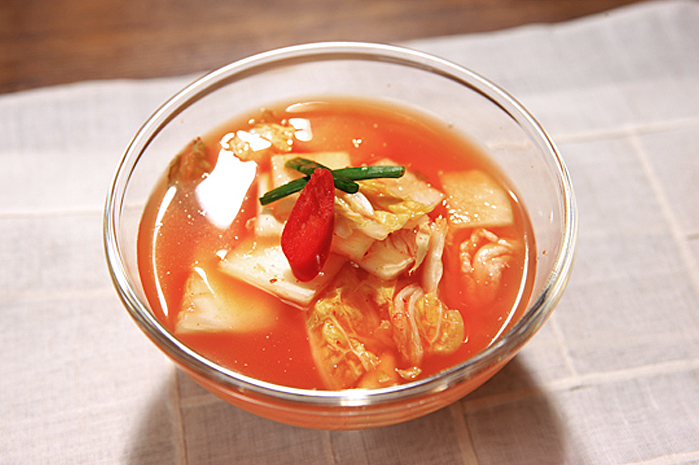 Nabak-kimchi: Water Kimchi