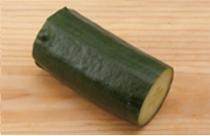 1/4 cucumber = 30g