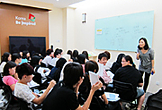 Korean language class Image