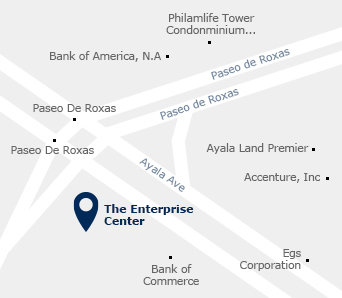 Manila office map picture