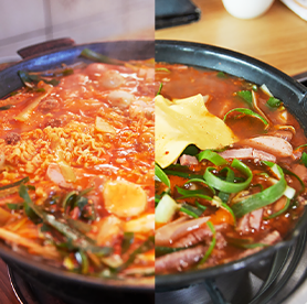 Taste the difference – Uijeongbu-style budae jjigae vs. Songtan-style budae jjigae