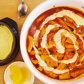 The end game of tteokbokki - super spicy tteokbokki that even Koreans fear