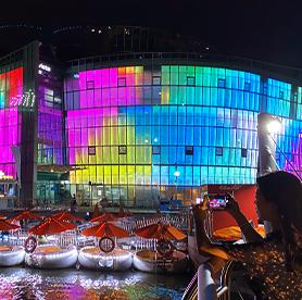 體驗漢江公園特色活動3– 在漢江拍下美麗夜景