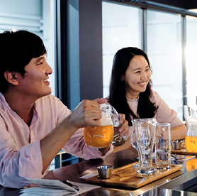 Craft brewery tour for the freshest Korea beer