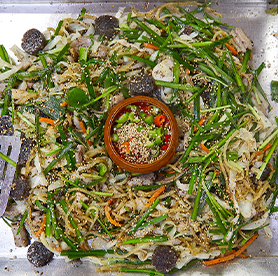 No worries of meat odor at Sundae Gopchang Town, the home of sundae and gopchang cuisine