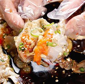 Cangrejos rellenos de arroz: ganjang gejang y yangnyeom gejang