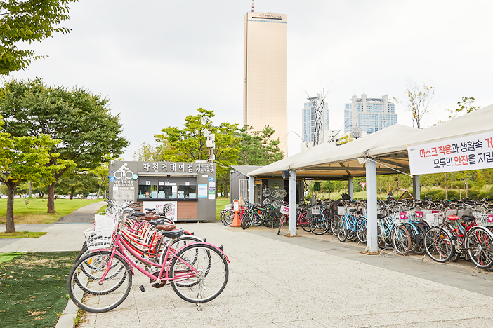 盡情在漢江感受騎乘自行車的樂趣_image01