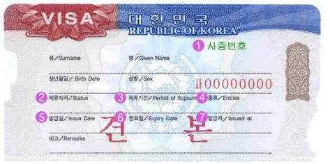 韓国ビザ・税関 :韓国観光公社...