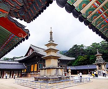 仏国寺の釈迦塔