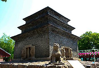 芬皇寺模塼石塔