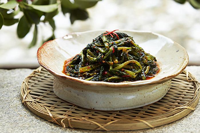 ヨルムキムチ(大根の若菜キムチ)