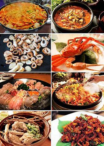 美味しいもの満載の韓国うまいもん通り