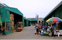 可楽(カラク)市場(可楽農水産物卸売り市場)