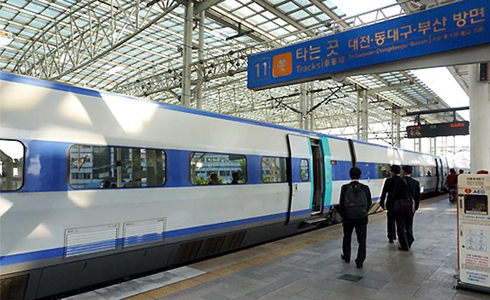 韓国高速鉄道(KTX)