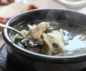 굴국밥 사진