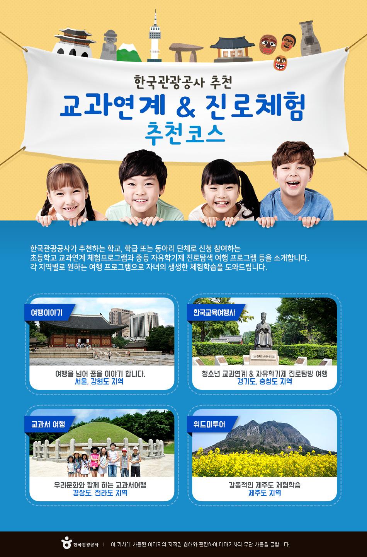 한국관광공사 추천 교과연계 & 진로체험 추천코스