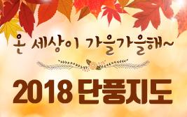 온 세상이 가을가을 해 2018 단풍지도 사진
