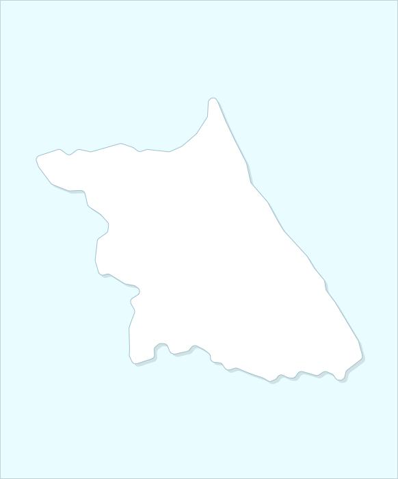 Провинция Канвон-до карта