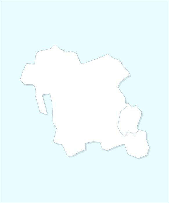 Провинция  Чхунчхон-намдо карта