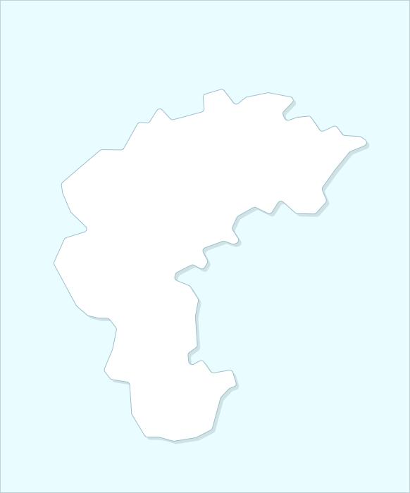 Провинция Чхунчхон-букдо карта