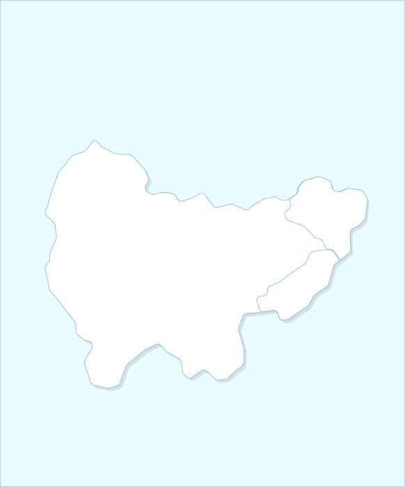 Провинция Кёнсан-намдо карта