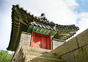 Южные ворота в Крепости Кымчжонсансон