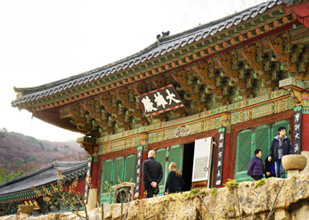 Национальное сокровище № 434, Павильон Тэунчжон (снизу справа)