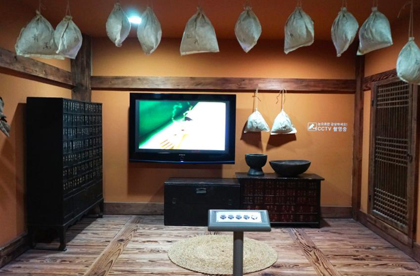 Внутренний вид Музея традиционной корейской медицины в городе Тэгу