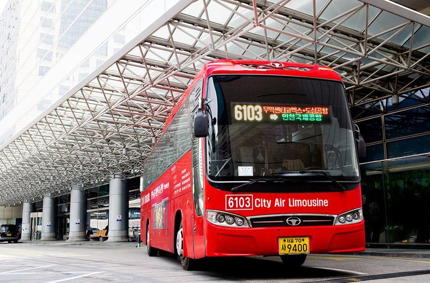 Автобус-лимузин Городского терминала аэропорта (Источник: CALT)