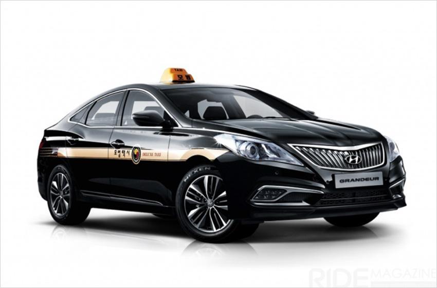 Такси класса «люкс» (Предоставлено: SK Gas)