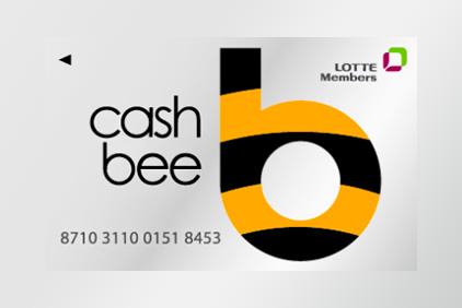 cahe bee(LOTTE Members) 8710 3110 0151 8453