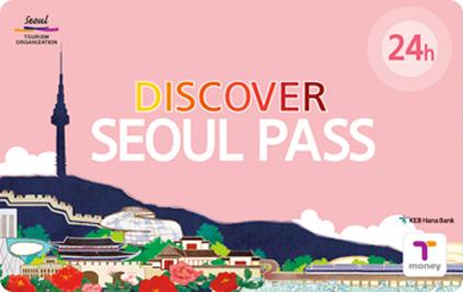 Транспортная карта Discover Seoul pass – абонемент на 24 ч