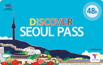 Транспортная карта Discover Seoul pass – абонемент на 48 ч.