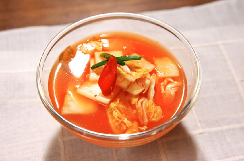 Набак кимчхи (Nabak-kimchi : Watery Kimchi)