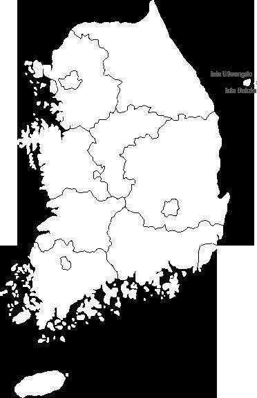 Mapa de Corea