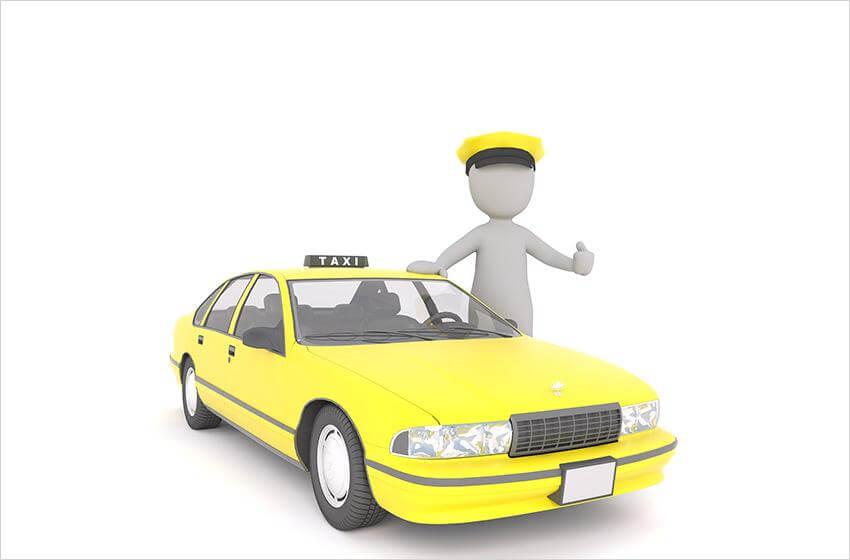 Diseño de un taxi coreano.