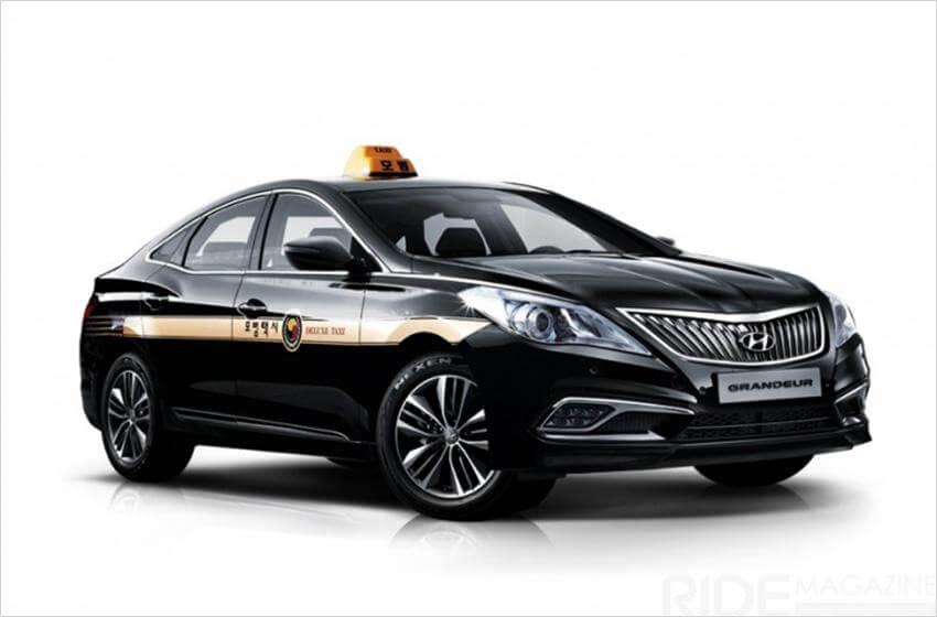 Taxi premium (cortesía de SK Gas).