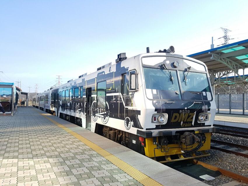 Tren de la Paz de la DMZ (cortesía de KORAIL)